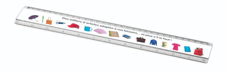 Règle en plastique 30 cm