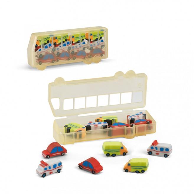 Set de gommes Car