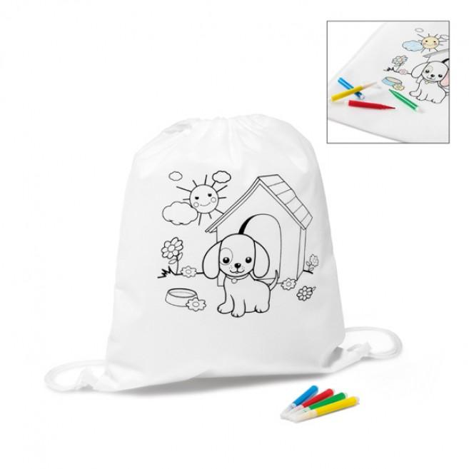 Sac à dos pour colorier Draws